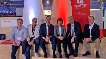Dmexco 2019 Start-up-Bereich Fit for Invest (Bild: Manfred Janssen)