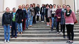 Studenten des CICS bei der European Student Conference on Object Conservation in Budapest (Bild: FH Köln - CICS)