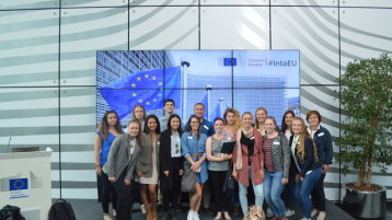 Participants of the Summer School 2018 at the European Commission