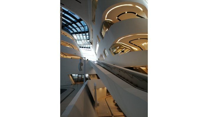 Library & Learning Center (LC), WU Wien von Zaha Hadid