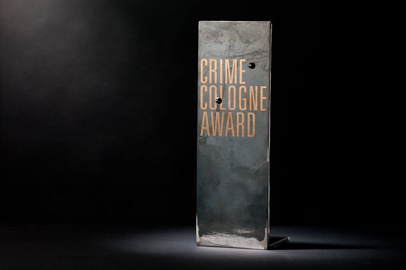 Crime Cologne Award. Entworfen von Dustin Schulz, Student der Köln International School of Design der TH Köln.