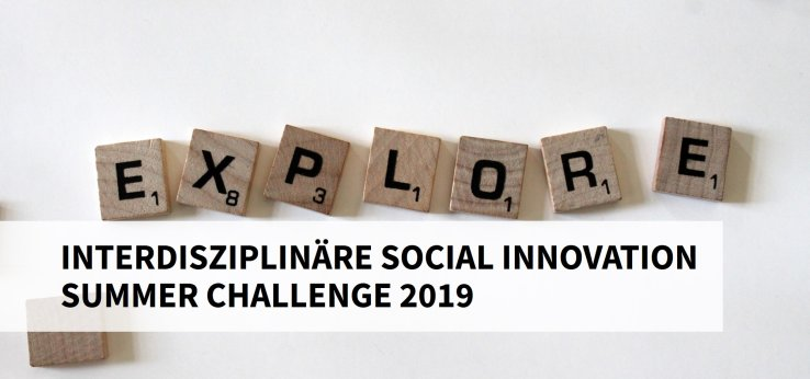 Interdisziplinäre Social Innovation Summer Challenge 2019 (Bild: Amanda Jones / Unsplash)
