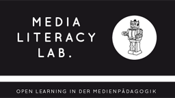 Logo Media Literacy Lab. Open Learning in der Medienpädagogik (Bild: IMM)