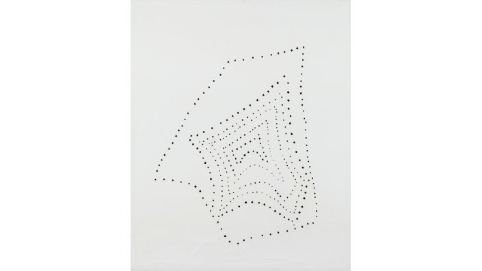 Lucio Fontana: Concetto Spaziale 51 B 14-224/3 (1949/51), Kunstmuseen Krefeld