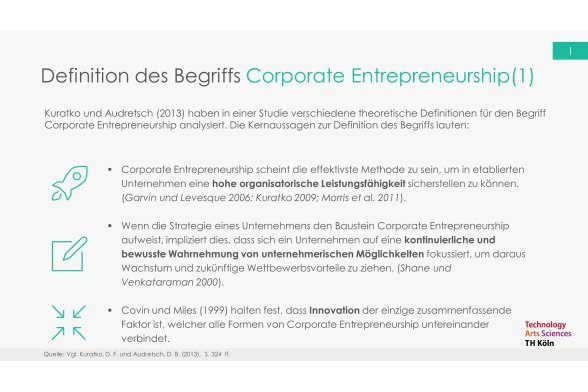 Corporate Entrepreneurship Folie 5