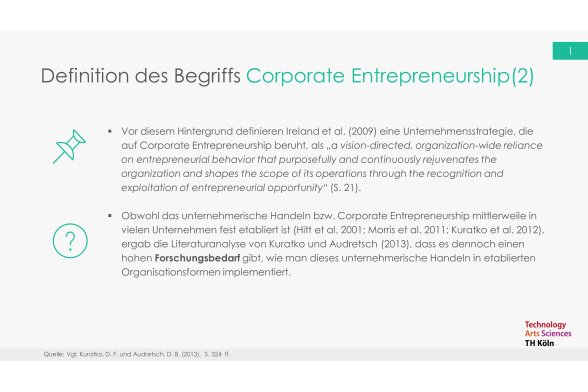 Corporate Entrepreneurship Folie 6