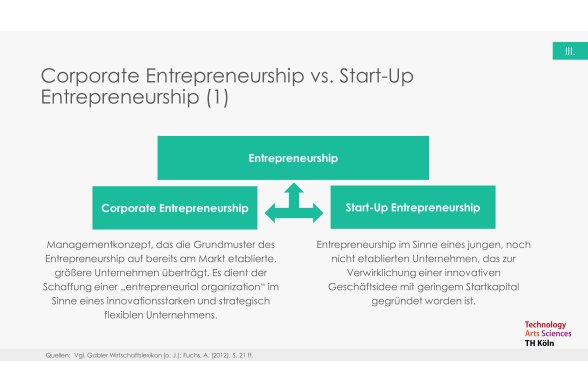 Corporate Entrepreneurship Folie 11