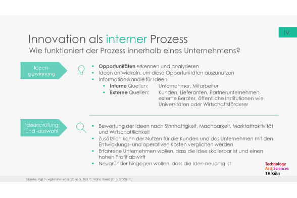 Innovation und Entrepreneurship Folie 11