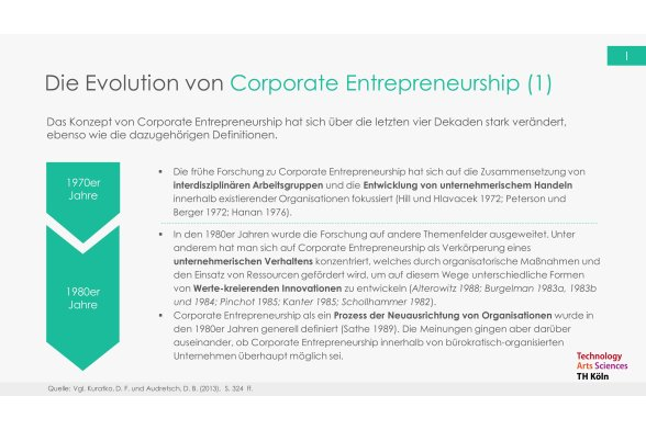 Corporate Entrepreneurship Folie 8
