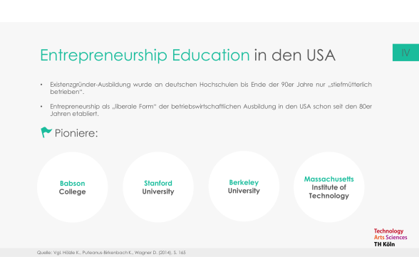 Entrepreneurship Education Folie 18