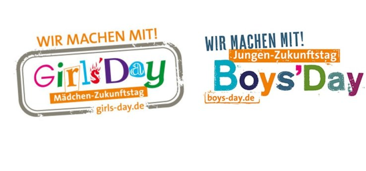 Wir machen mit beim Girls Day und Boys Day (Bild: Girls Day / BoysDay)