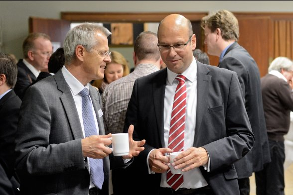 Networking in der Kaffeepause