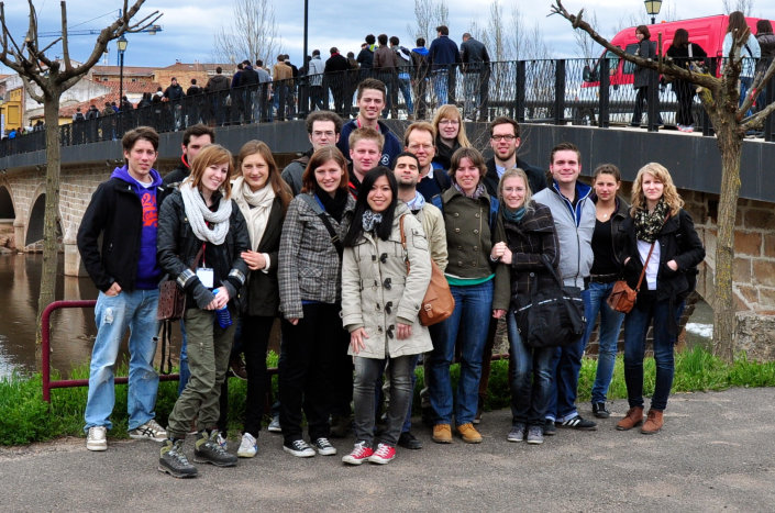 Gruppenfoto der International Civil Engineering Week 2012