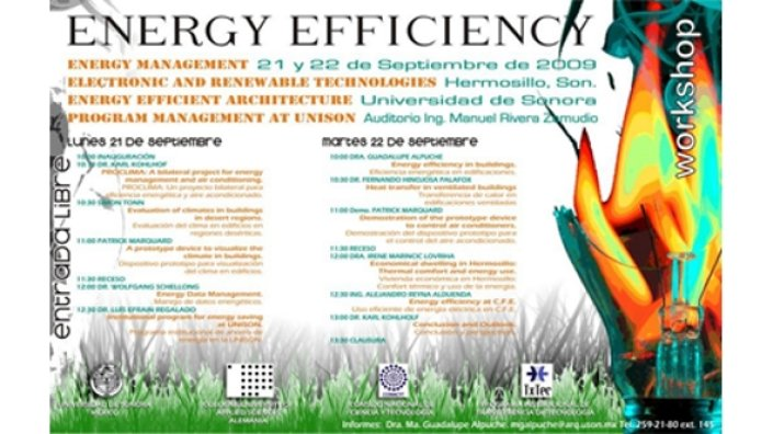 Program of the Energy Efficieny Workshop 2009