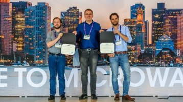 IEEE Student Design Competition 2019 in Boston (Bild: TH Köln)
