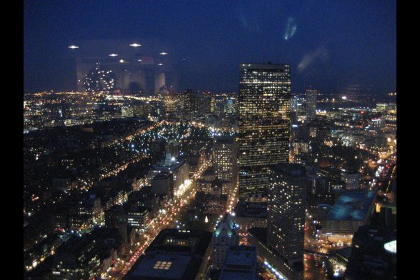 Boston from Prudential Center