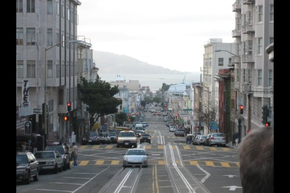 Hills in San Francisco