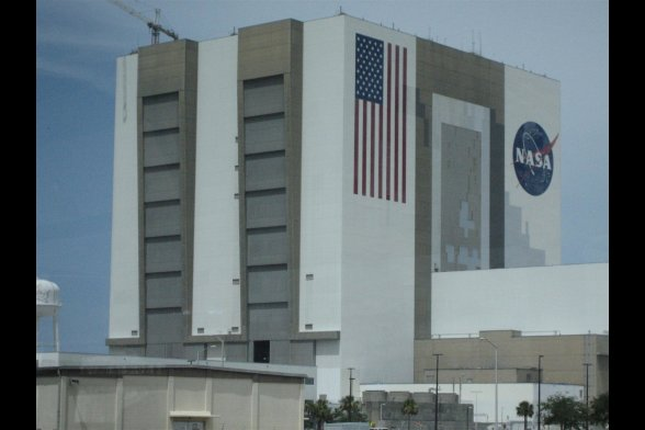 Kennedy Space Center Vehicle Assembly Building, Florida