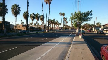 Long Beach Street View (Bild: Erfan Maleklo)