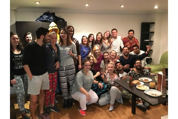 Pijama party at my flat