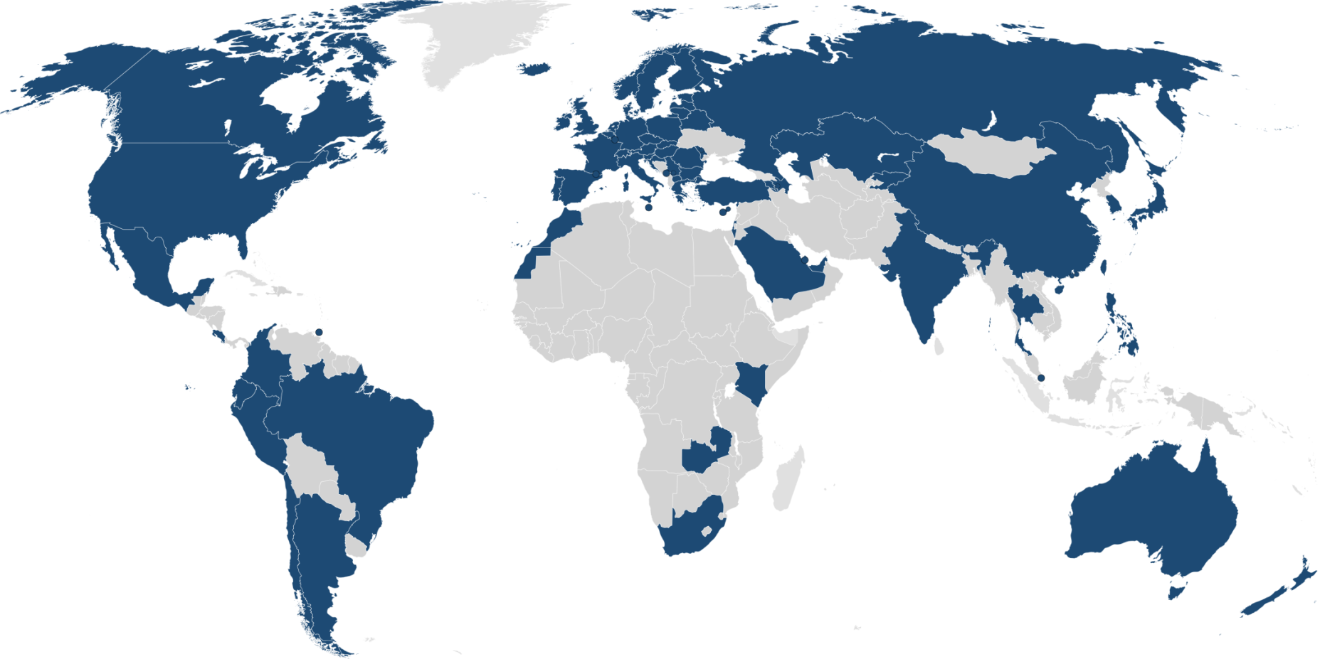 Eduroam World Map