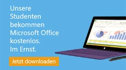 Office 365 Student Advantage (Bild: Microsoft)