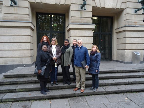 Delegation der Fulbright-Kommission
