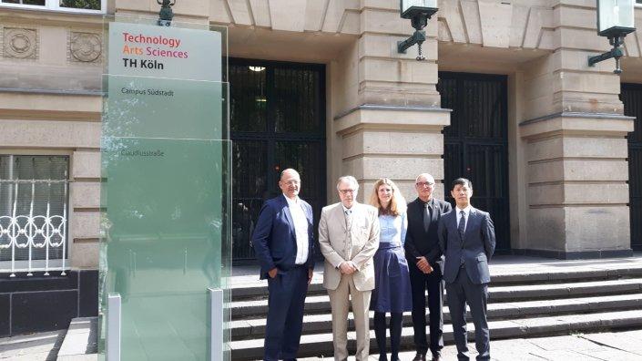 Besuch des Vizepräsidenten des KIT, Japan
