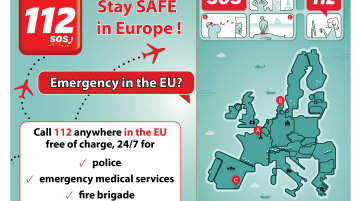 Stay Safe in Europe (Bild: European Emergency Number Association (EENA))
