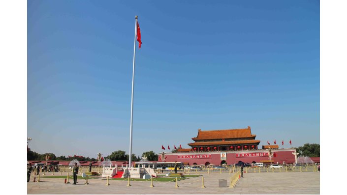 Der Tian'anmen-Platz in Peking