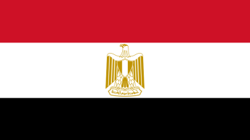 Flagge Ägypten (Bild: Wikimedia Common - Open Clip Art)