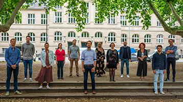 Gruppenfoto Zentrale Studienberatung (Bild: ZSB TH Köln)