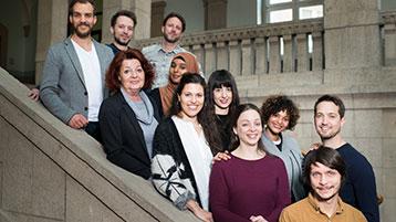 Gruppenfoto des Teams der Zentralen Studienberatung der TH Köln (Bild: TH Köln)