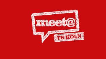 Logo der Firmenkontaktmesse meet@ TH Köln (Bild: TH Köln)