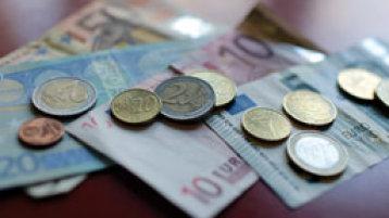 Geldscheine und Münzen (Bild: Thilo Schmülgen/FH Köln)